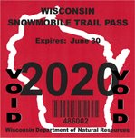 WI Snowmobile Trail Pass
